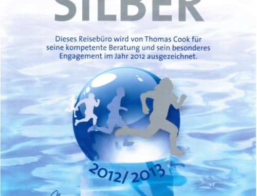 2012 Thomas Cook Silber